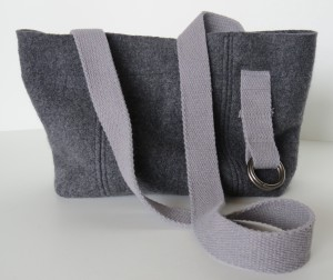 It's another grey merino wool bag,