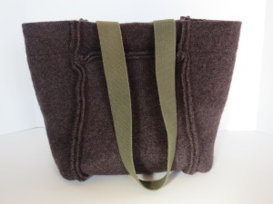 This brown one is the biggest, opens wide- a great tote for a day of shopping or fun. https://www.etsy.com/listing/211677170/tote-brown-felted-wool-thick-green-strap?ref=shop_home_active_2