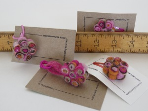 "These are really adorable, and only 1"" across, 1/2"" thick. What grandma wouldn't buy one of these for their granddaughter?"