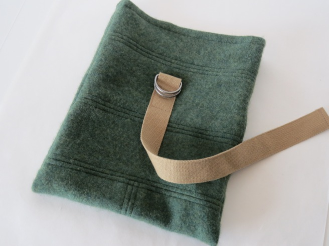 Boyish colors. But oh, so soft. It is cashmere, after all. This one a bit thicker than the first.