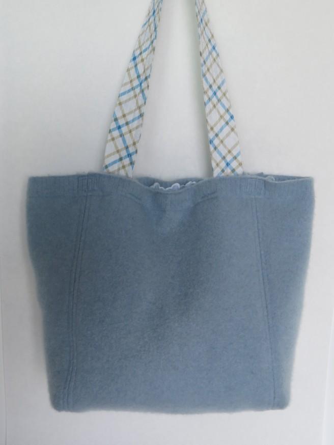 A lightweight bag for summer. Felted cashmere.
